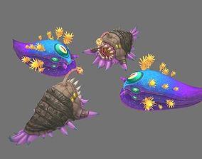 Fantasy Seabed organisms 3D model
