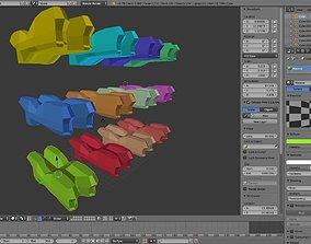 3D asset Spaceship models