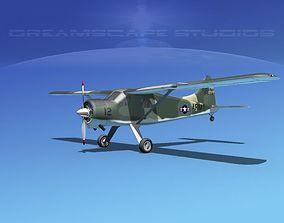 3D Dehaviland DH-2 Beaver US Army 3