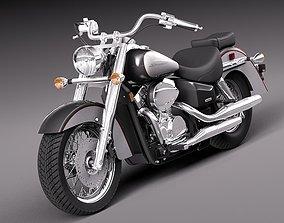 3D Honda Shadow Aero 750 2