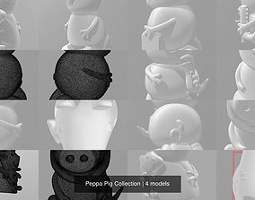 3D model Peppa Pig Collection