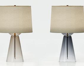BAKER WAISTLINE TABLE LAMP - SHORT 3D model