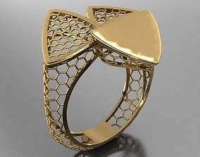 Triangle Fusion ring 3D printable model