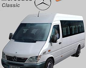 3D model Mercedes Benz Sprinter Classic Long bus