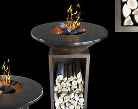3D model Wood-fired grill OFYR