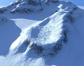 Snowy Mountain 3D