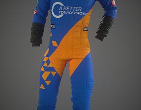 overall f1 team 3D model