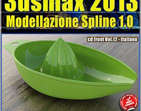 3ds max 2013 Modellazione Spline v 12 Italiano cd