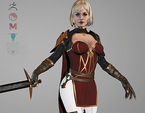 Assassin Princess-rigged 3D model