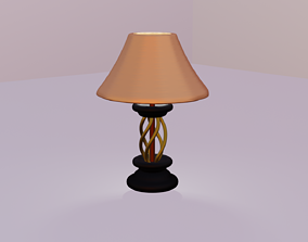 Lamp 3d model animated