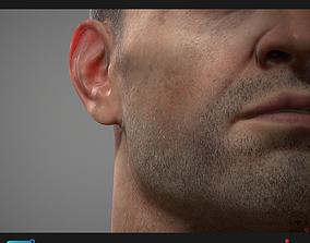 Poligone Facial Hair Tool for Substance Painter 3D model