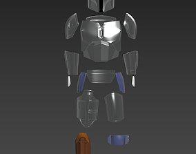 Star Wars The Mandalorian Beskar Armor 3D print model