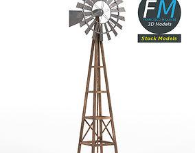 3D PBR Windmill