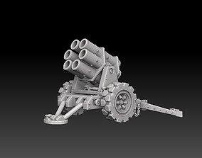 3D print model Nebelwerfer Artillery