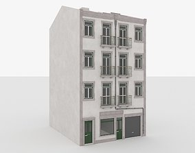 Building Lisbon Vray and Corona 3D asset