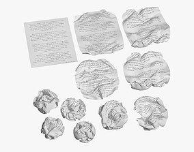 Crumpled Paper 3D