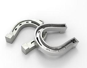 3D printable model Lucky Horseshoe trinket pendant