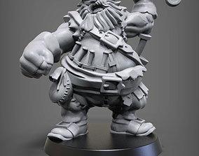 3D printable model Mercenaire Boss