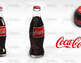 Coca Cola Bottle 192ml 3D asset