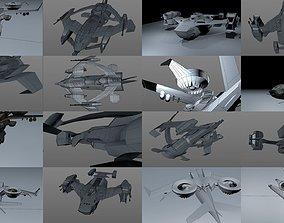 3D model Yeti fleet