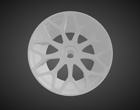 Forgiato Drea rims for Hot Wheels 3D print model