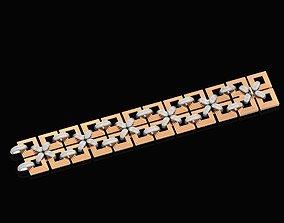 wide bracelet unisex 3D printable model