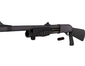 3D asset shotgun 870