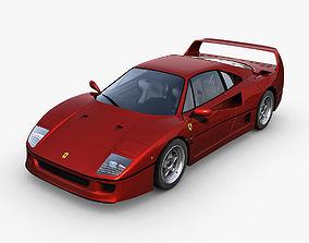 Ferrari F40 f40 3D model