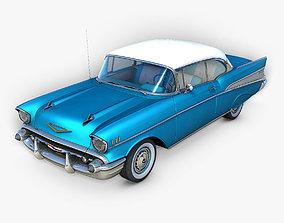 3D Chevrolet Bel Air 1957 auto