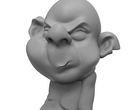 sculpt Funny troll desk toy 3D print model