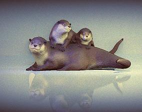 3D otters