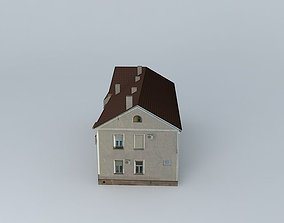 Cereal 3 residential house 3D model