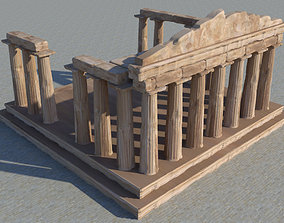 temple 3D Parthenon