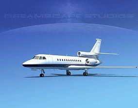 Dassault Falcon 900 V08 3D model