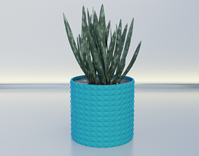 3D printable model Flower pot planter 11
