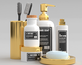 Bathroom Kit 3D asset