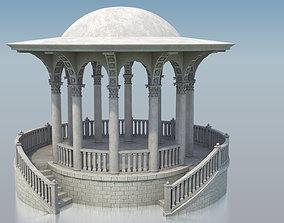 3D model Stone Gazebo