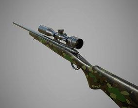 USMC M40A1 3D weapon