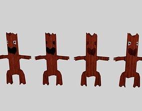 Monster Willow Character 3D model