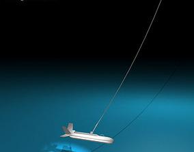 Variable depth sonar 3D model undersea