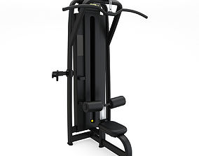 Technogym - Selectorised - Lat Machine 3D model