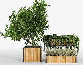 3D Flowerbox Combine Planters