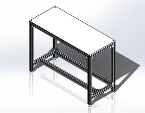 3D Aluminum Bench - Bancada de Aluminio
