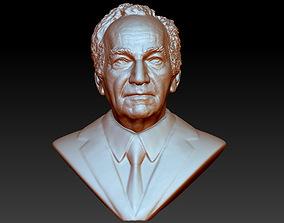 man bust 3d printable model