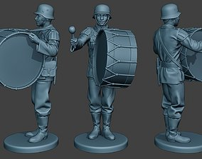 German musician soldier ww2 Stand 3D printable model 2