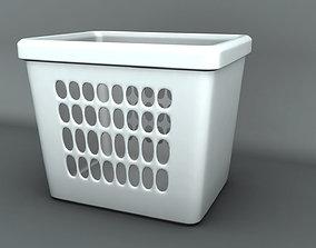 laundry basket 3D model VR / AR ready