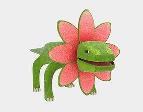 Petal Monster Lizard 3D asset