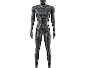 Faceless male mannequin 41 3D model