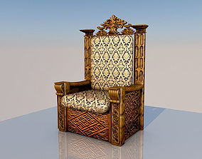 3D model King Throne