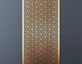 Decorative panel 210 3D model